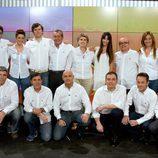 Equipo encargado de retransmitir los Juegos Olímpicos de Londres 2012