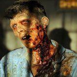 Uno de los zombies de 'The Walking Dead'