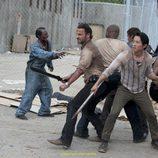 Una de las luchas contra zombies de la próxima temporada