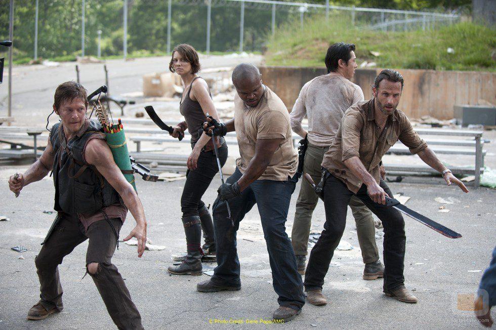 La lucha contra los zombies contiúa en la tercera temporada de 'The Walking Dead'