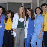 María Barranco y el resto del equipo de 'Hospital Central'