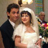 Luisma y Macu de boda en 'Aida'