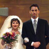 La boda de Macu y Luisma en 'Aída'