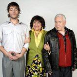Jesús Caba, Cesáreo Estébanez y Mamen García