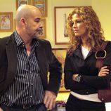 Antonio Resines habla con Jaidy Mitchell en 'Los Serrano'
