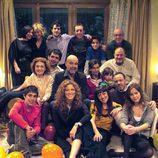 Antonio Resines celebra su cumpleaños en 'Los Serrano'