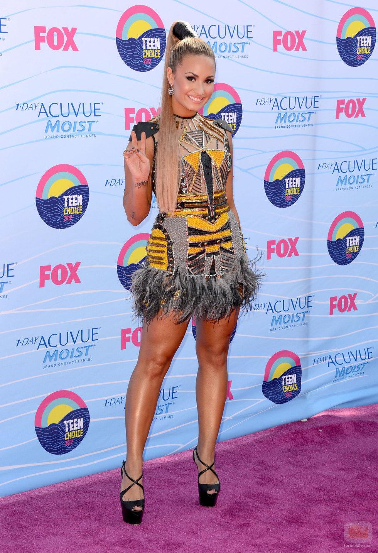 Demi Lovato en los Teen Choice Awards 2012