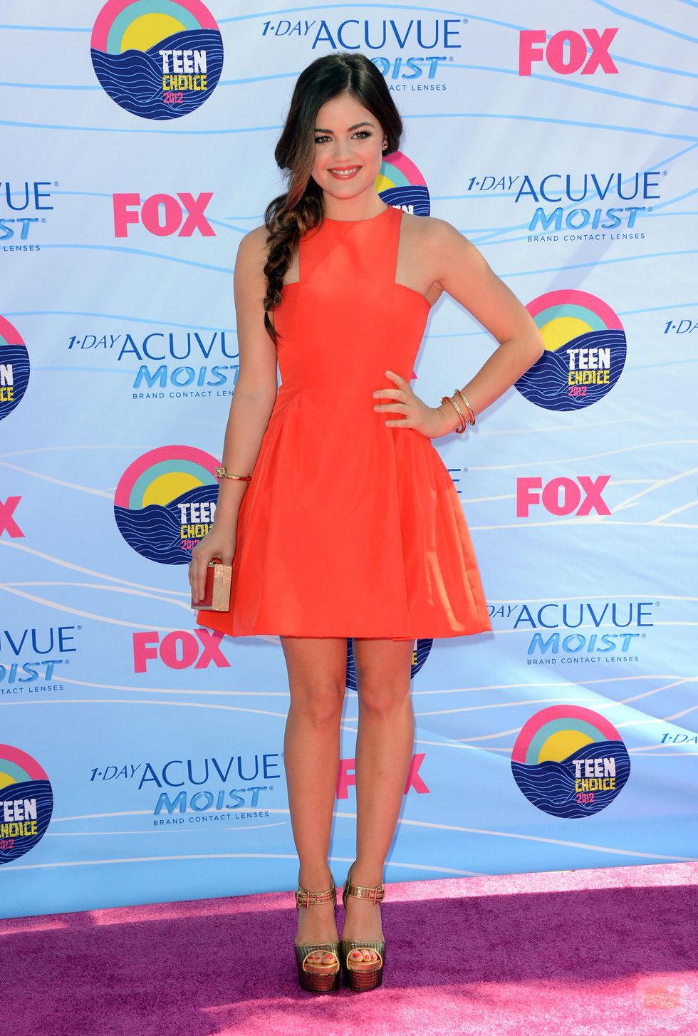 Lucy Hale en los Teen Choice Awards 2012
