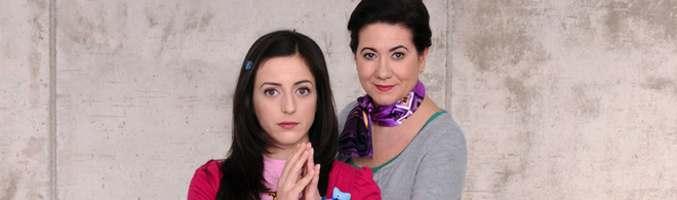 Ruth Núñez y Luisa Martín en 'Frágiles'