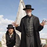 Eddie Spears y Tom Noonan en 'Infierno sobre ruedas'