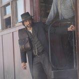 El actor Anson Mount en 'Infierno sobre ruedas'