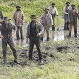 Los agricultores de 'Infierno sobre ruedas' con Cullen Bohannon a la cabeza