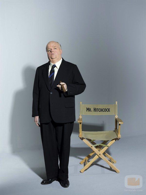 Toby Jones interpreta a Alfred Hitchcock en 'The Girl'