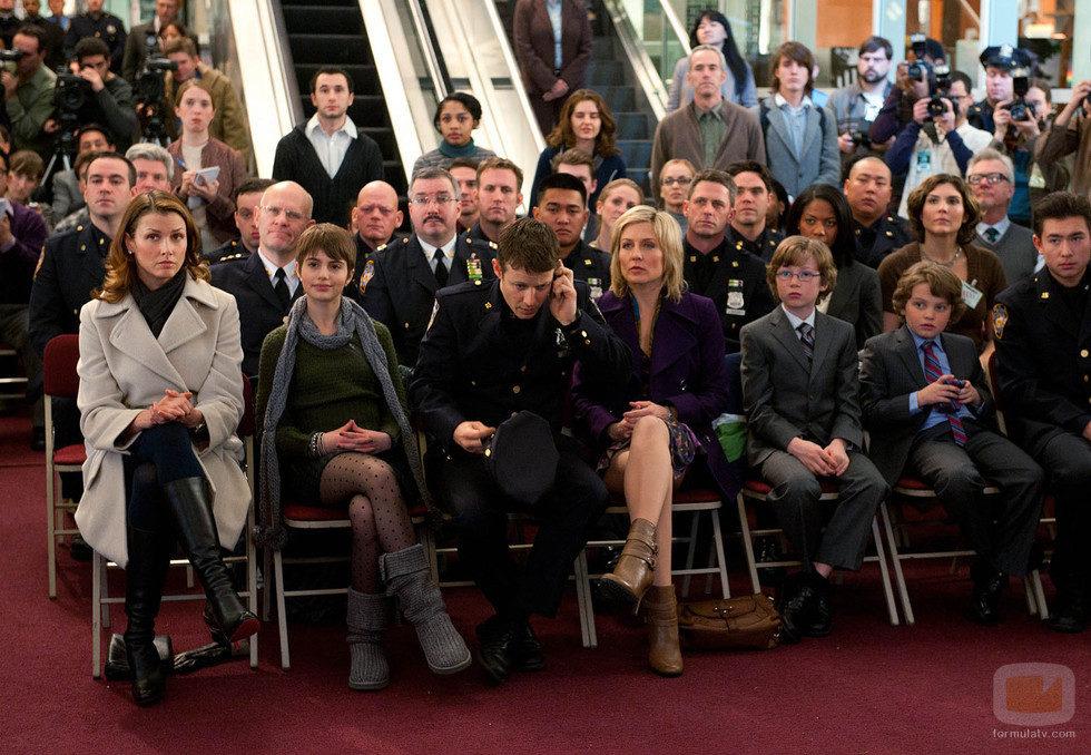La familia Reagan, en el homenaje dedicado a su patriarca