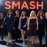 El elenco de 'Smash' al completo