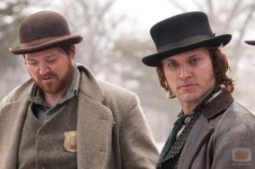 Kevin y Andrew en una escena de 'Copper'