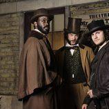 Kevin Corcoran, Freeman y Morehouse, en 'Copper'