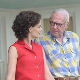 Joe Kennedy habla con Jackie en 'Los Kennedy'