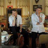 Los hermanos Kennedy pendientes de los sondeos electorales