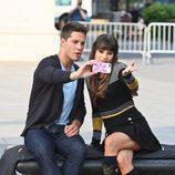 Rachel Berry y Brody Weston en la cuarta temporada de 'Glee'