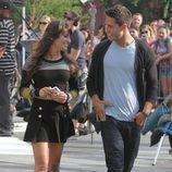 Dean Geyer y Lea Michele, amor a primera vista en 'Glee'