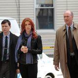 Carrie, Burns y Costelo en una escena de 'Imborrable'
