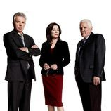 Mary McDonnell, G.W. Bailey y Tony Denison