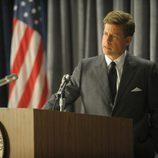 El presidente Kennedy pronuncia un discurso