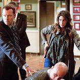 Jackie y Danny retienen a dos sospechosos en 'Blue Bloods'
