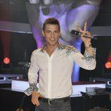 Jesús Vázquez, en el plató de 'La Voz'