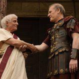 Pepe Sancho y Lluis Homar en 'Imperium'