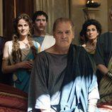 Parte del elenco de 'Imperium' en una foto promocional de la serie