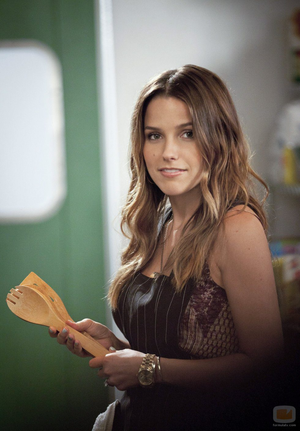Sophia Bush como Brooke Davis en la novena temporada de 'One Tree Hill'