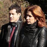 Carrie y Burns en una escena de 'Imborrable'