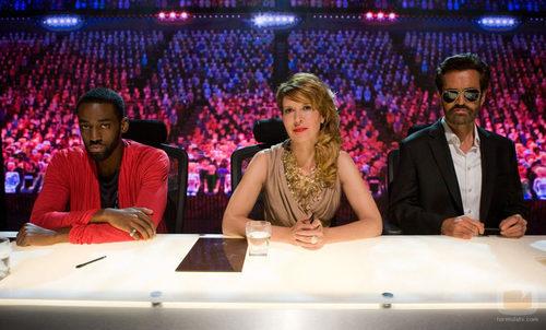 Los miembros del jurado de 'Hot Shoot', el reality de la miniserie 'Black Mirror'