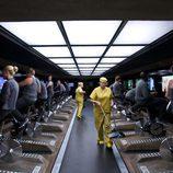 Las personas realizan ejercicio físico a cambio de aplicaciones tecnológicas en 'Black Mirror'