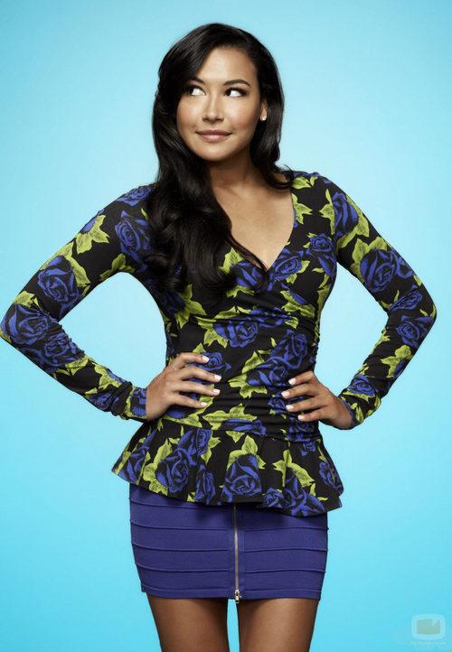 Naya Rivera interpreta a Santana López en la cuarta temporada de 'Glee'