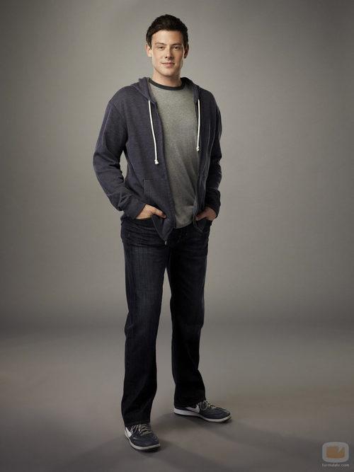 Cory Monteith es Finn Hudson en la cuarta temporada de 'Glee'