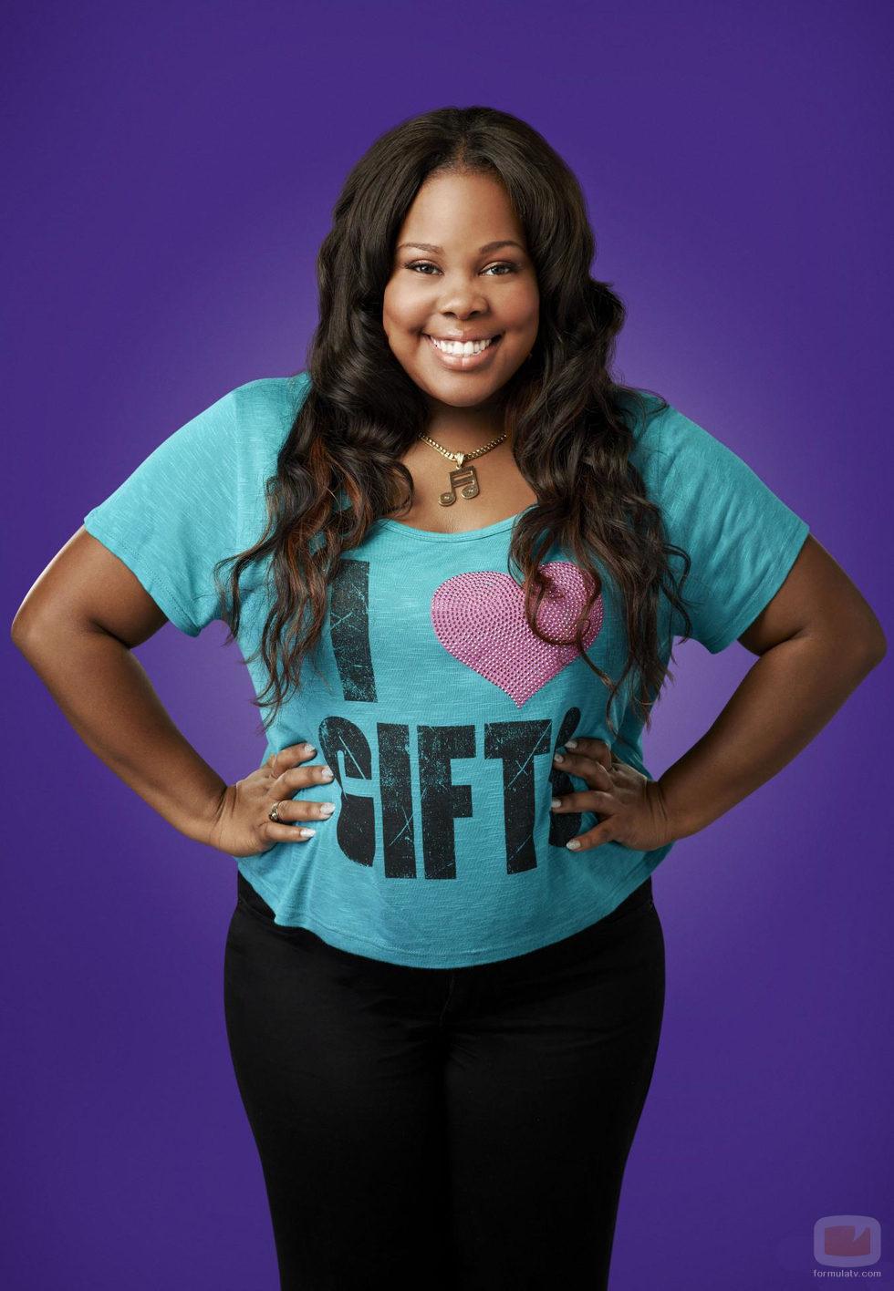 Amber Riley es Mercedes Jones en la cuarta temporada de 'Glee'