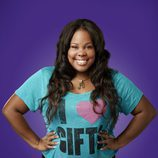 Amber Riley es Mercedes Jones en la cuarta temporada de 'Glee'