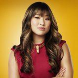 Jenna Ushkowitz es Tina Cohen-Chang en la cuarta temporada de 'Glee'