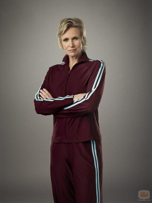 La entrenadora Sue Sylvester en la cuarta temporada de 'Glee'