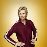 Jane Lynch es Sue Sylvester en la cuarta temporada de 'Glee'