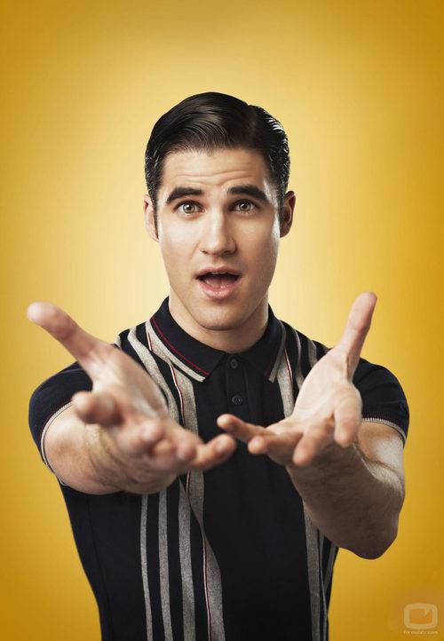 Darren Criss es Blaine Anderson en la cuarta temporada de 'Glee'