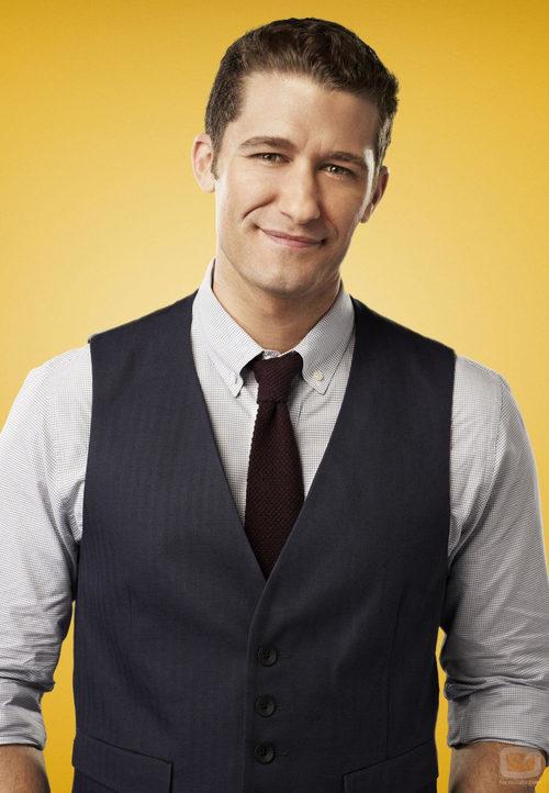 Matthew Morrison interpreta a Will Schuester en la cuarta temporada de 'Glee'