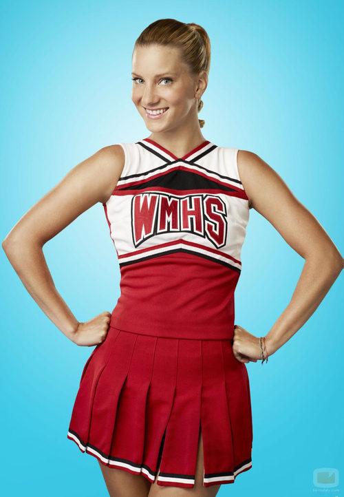 Heather Morris sigue siendo animadora en la cuarta temporada de 'Glee'