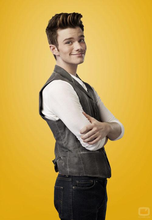 Chris Colfer es Kurt Hummel en la cuarta temporada de 'Glee'