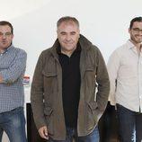 César González Antón, Antonio García Ferreras y Javier Gómez