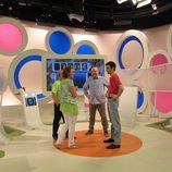 Grabación del concurso 'XlaCara' de la cadena Telemadrid