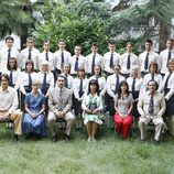 Profesorado y alumnos de 'Curso del 73'